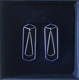 Purple Articulated Studs - €50