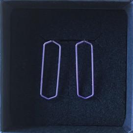 Thin Purple Bars - €30